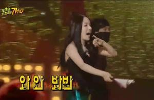 李贞贤又来了,经典的扇子舞歌曲《哇》超级劲爆,还是那么漂亮。