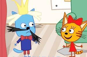 咪好一家:阿宝邀请猫咪们观看它的戏剧,全部角色一个人演忙不过