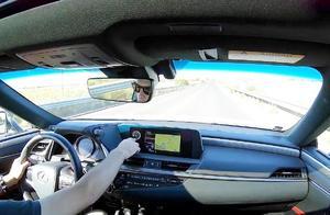 试驾2019款雷克萨斯ES300h,开车上路那刻,才明白视野有多开阔!