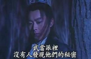 武当派奸细傅玉书,跟踪发现了吴京和黑衣人在山林密会练武。
