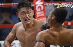 """拳王方便都很难打的泰国""""铁人"""",却被中国小伙接连读秒打懵KO"""