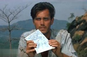 这才是真正的孤岛英雄,美军战舰被日军锁定,他挺身而出化险为夷