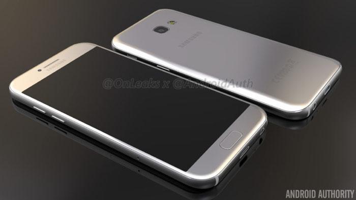 主推中档,三星Galaxy A5(2017)手机上即将来临