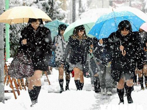 东北学生冬天上学的日常!