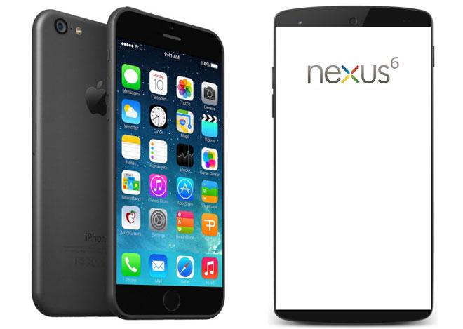 iPhone 6 vs. Nexus 6,iPhoneGoogle全新旗舰级的