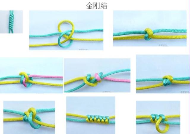 手链编织方法简单又好看教程大全