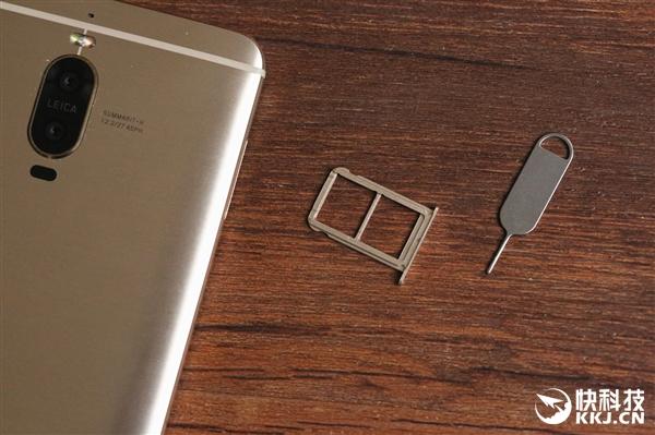华为公司Mate 9 Pro先发拆箱:单叶双曲面顶尖机皇