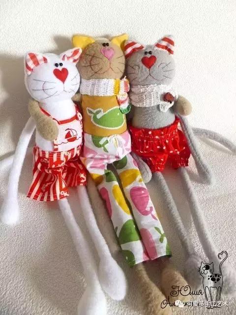 用旧衣服给孩子做几个小动物玩偶,第一个就爱不释手了! 旧衣服做动物玩偶 第43张