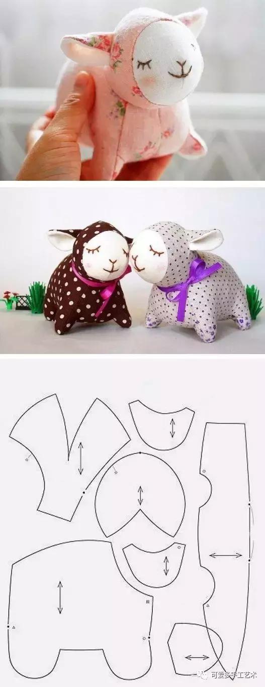 用旧衣服给孩子做几个小动物玩偶,第一个就爱不释手了! 旧衣服做动物玩偶 第5张