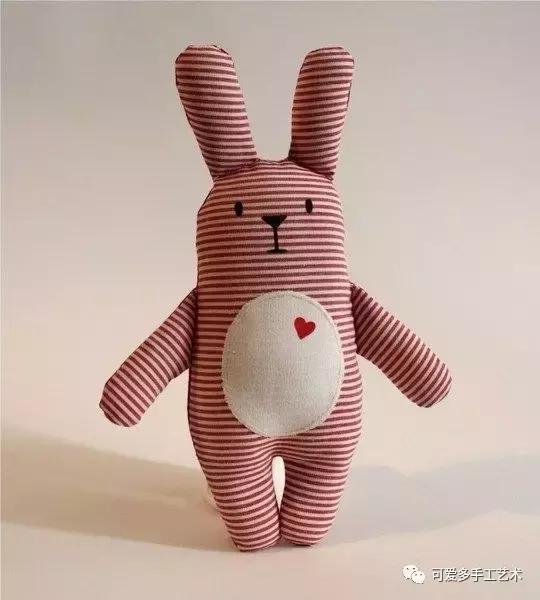 用旧衣服给孩子做几个小动物玩偶,第一个就爱不释手了! 旧衣服做动物玩偶 第41张