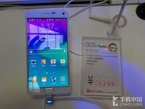 2K屏骁龙805四核 三星Note 4中国发行开售