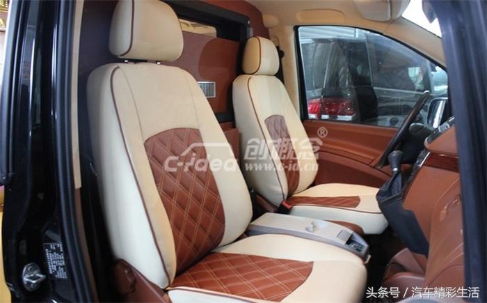 新款奔驰威霆内饰改装演绎优雅从容的商务风范!