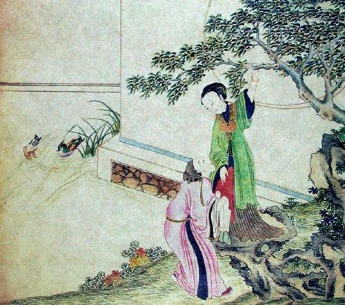 唐伯虎之秘戏图佳作:《鸳鸯秘谱》真迹