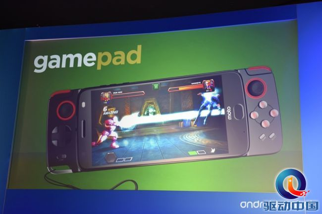 最新款MOTO Z 更具有可玩度:骁龙835另加手机游戏控制模块