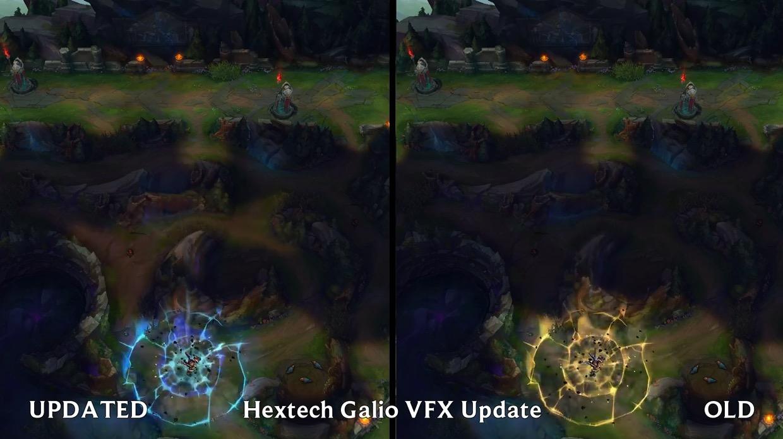 LOL拥有这两款加里奥皮肤的玩家有福了,拳头追加特效!