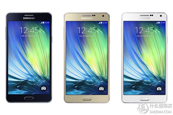 """三星的""""性价比高""""纤薄金属材料机:5.5寸 Galaxy A7 智能机 宣布公布"""