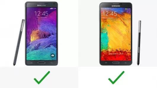 衔接机罢了?三星Galaxy Note 4/3几代规格型号比照