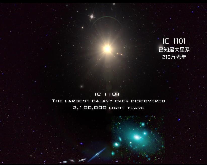 宇宙最大的10个星系,银河系只是沧海一粟-第5张图片-IT新视野