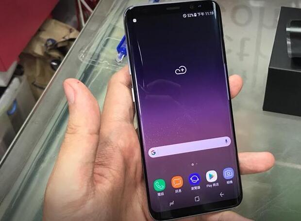 Samsung Galaxy S8韩国版水货手机来啦,拆箱测评