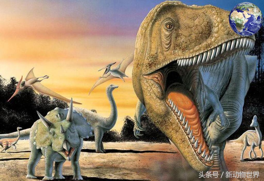 鲨齿龙——白垩纪时代纵横埃及地区的巨型食肉恐龙