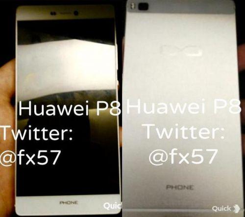 華為公司P8配備曝出:雙鏡頭/雙夾層玻璃外殼/瓷器外框