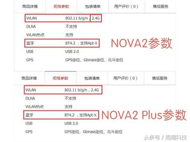 华为公司nova2宣布公布,两个5G WIFI都不兼容?