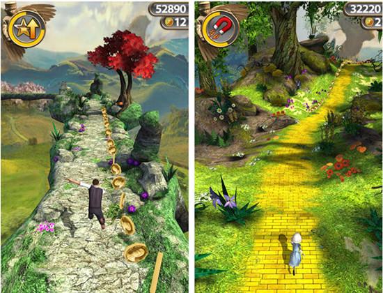 《Temple Run:魔境仙踪》:童话包裹下的老游戏
