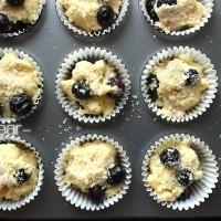爆浆蓝莓麦芬的做法步骤