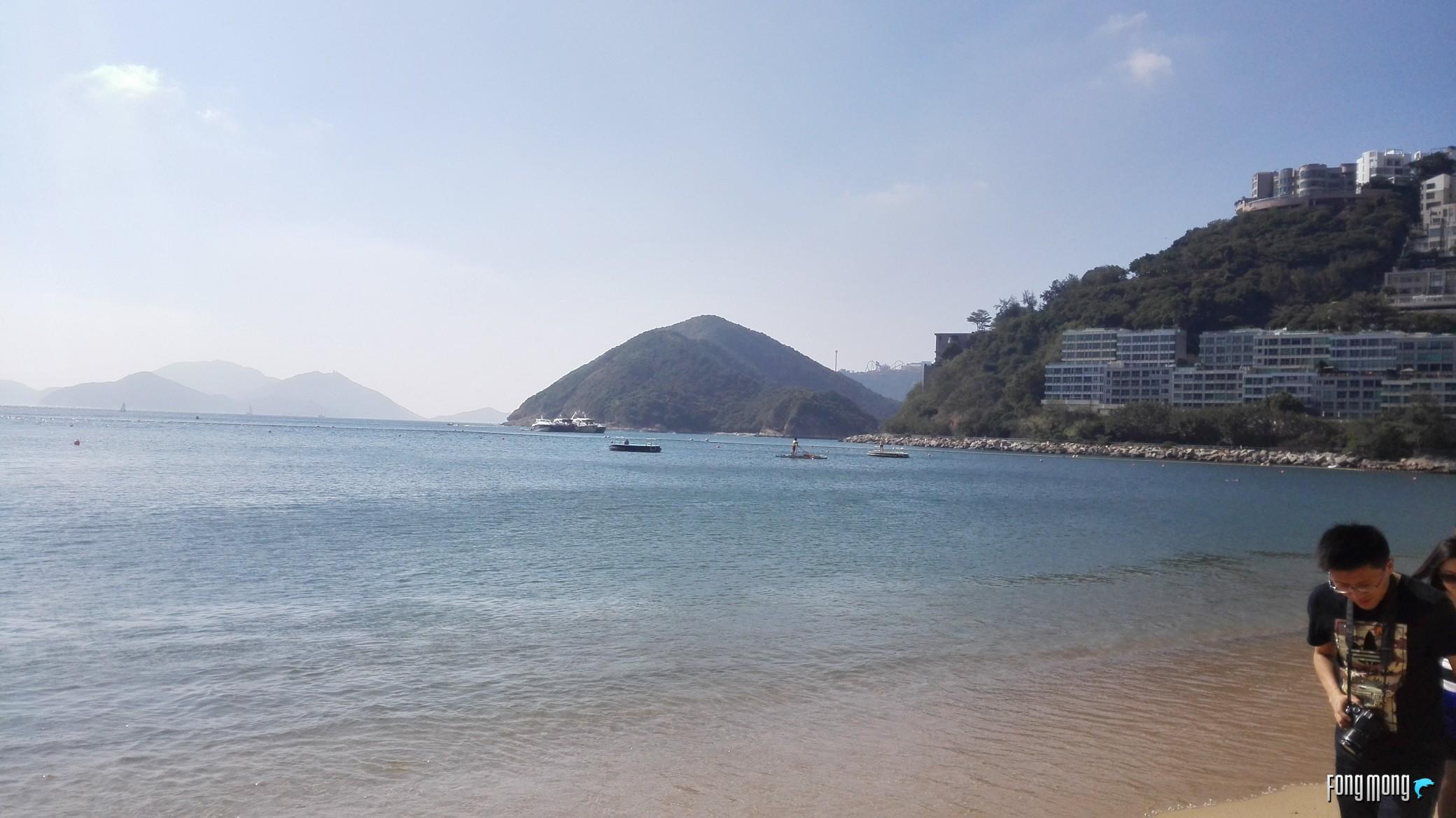 带著华为公司P7游中国香港,体会东方之珠的与众不同风采