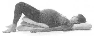 臀位纠正的标准姿势
