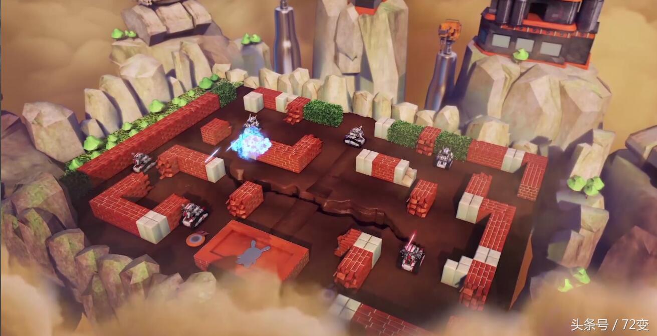 """小米米兔积木机器人新产品发布!1086块零件塑成的""""链轨机甲战车"""""""