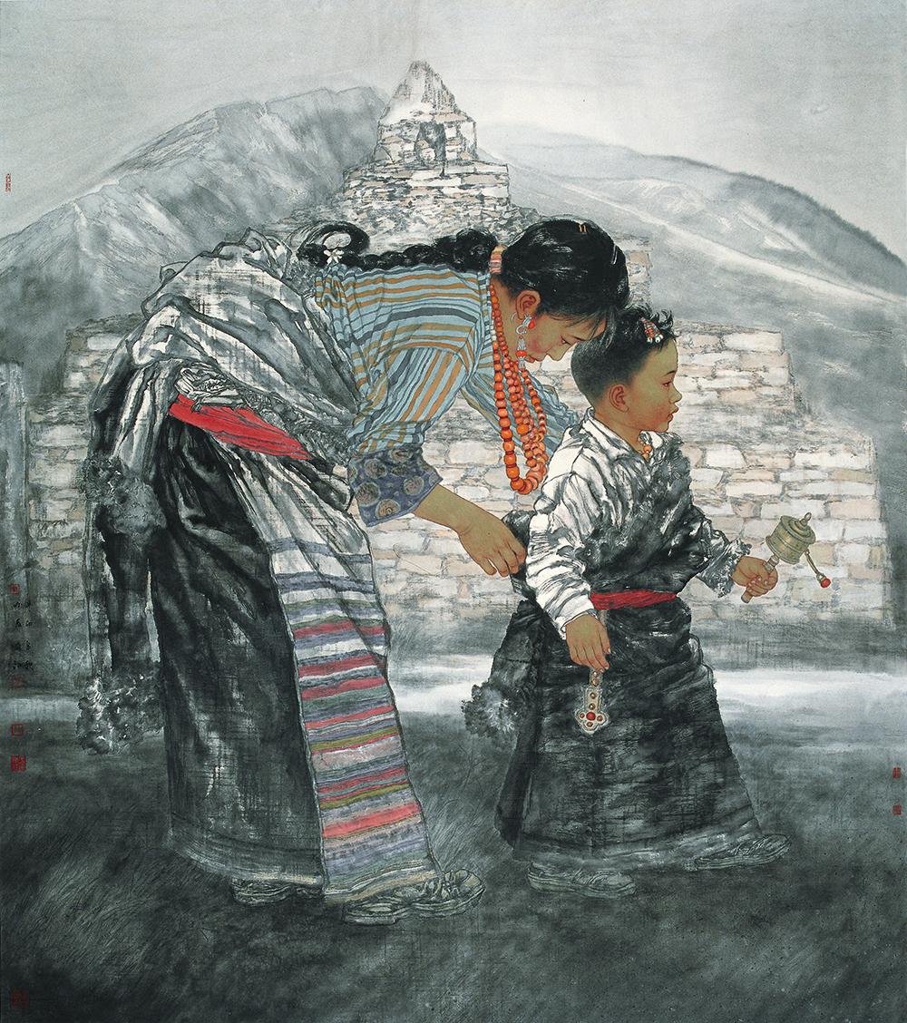 在追寻绘画语言的路上永不停歇——赏析著名画家于文江兼工带写、亦实亦虚的绘画语言