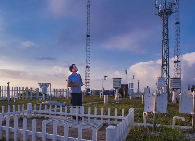 大美台站(高清美图)|那些耸立在高山之巅的气象站