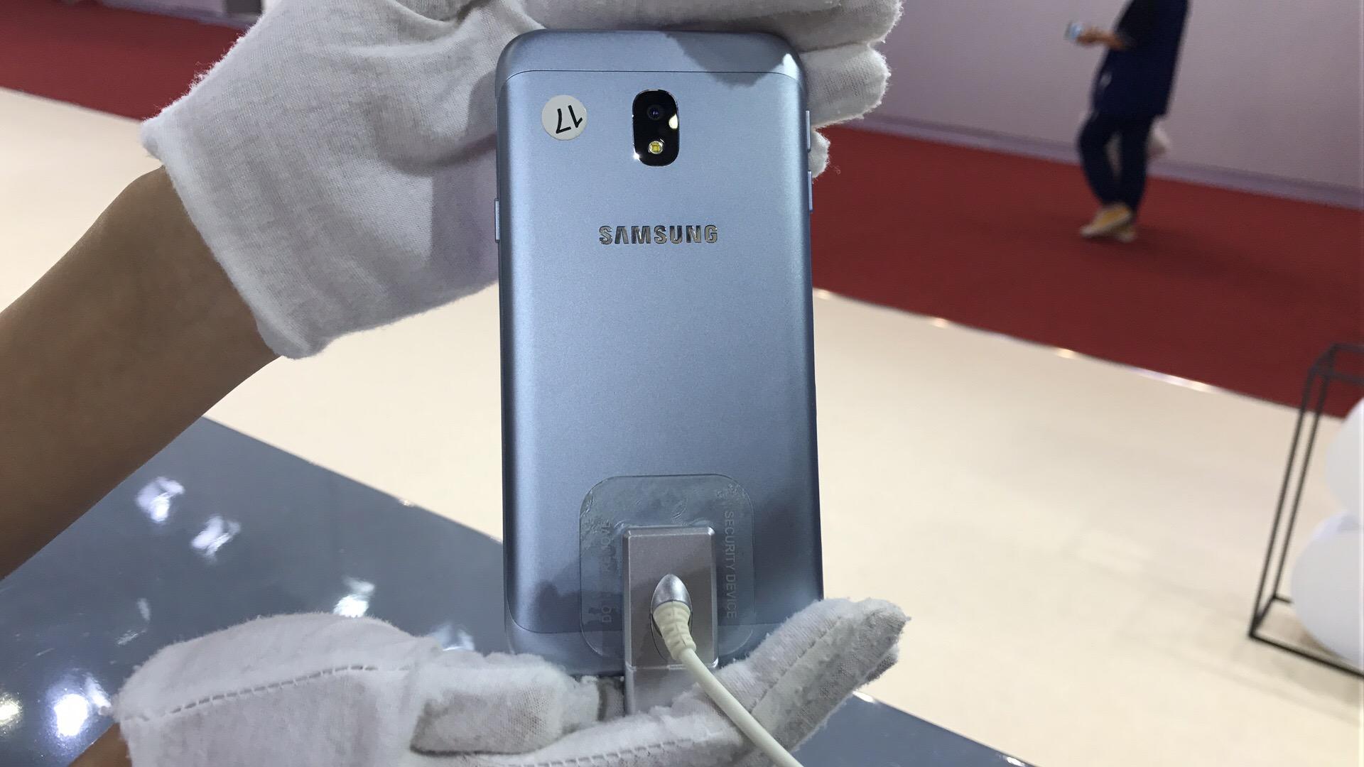 适用NFC,三星颜值爆表千元手机Galaxy J3 2017款宣布公布