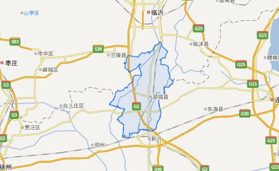 山东省一个县,人口超90万,被江苏省三面包围!