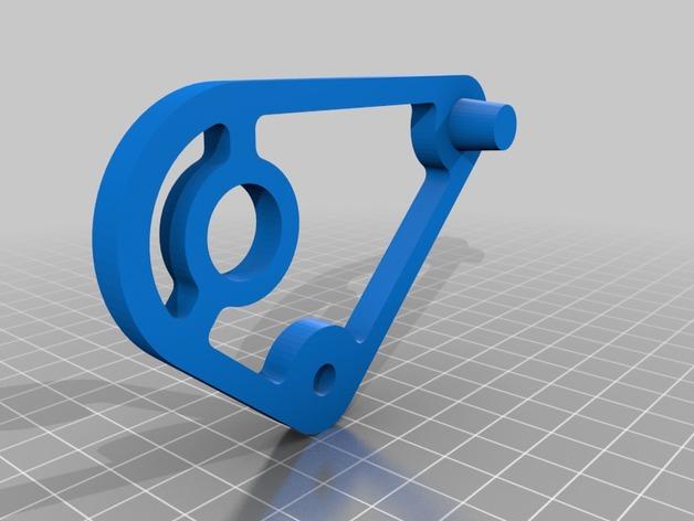 槽轮机构小玩具模型3D打印图纸 STL格式