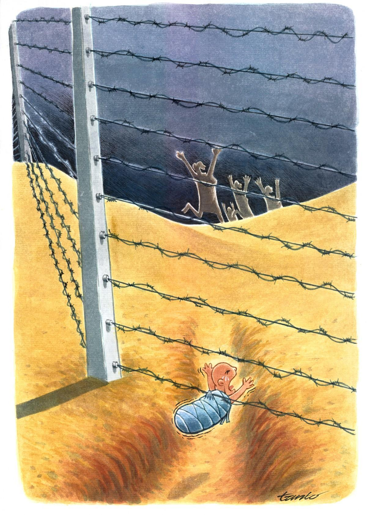 天天漫画网:国外幽默漫画《温良的东方》