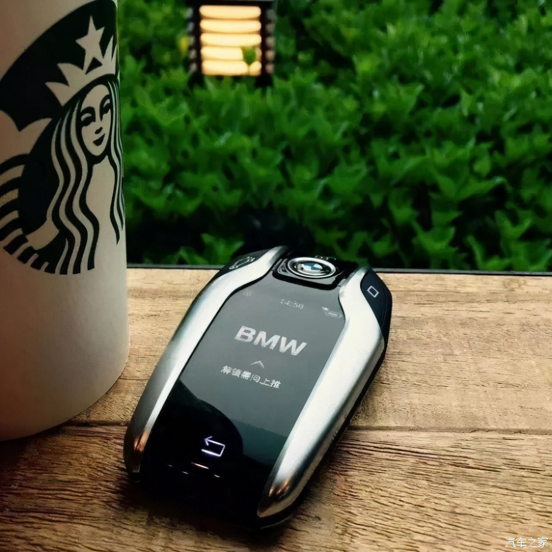 创新生态可持续|BMW智能液晶钥匙宝马车主发圈神器