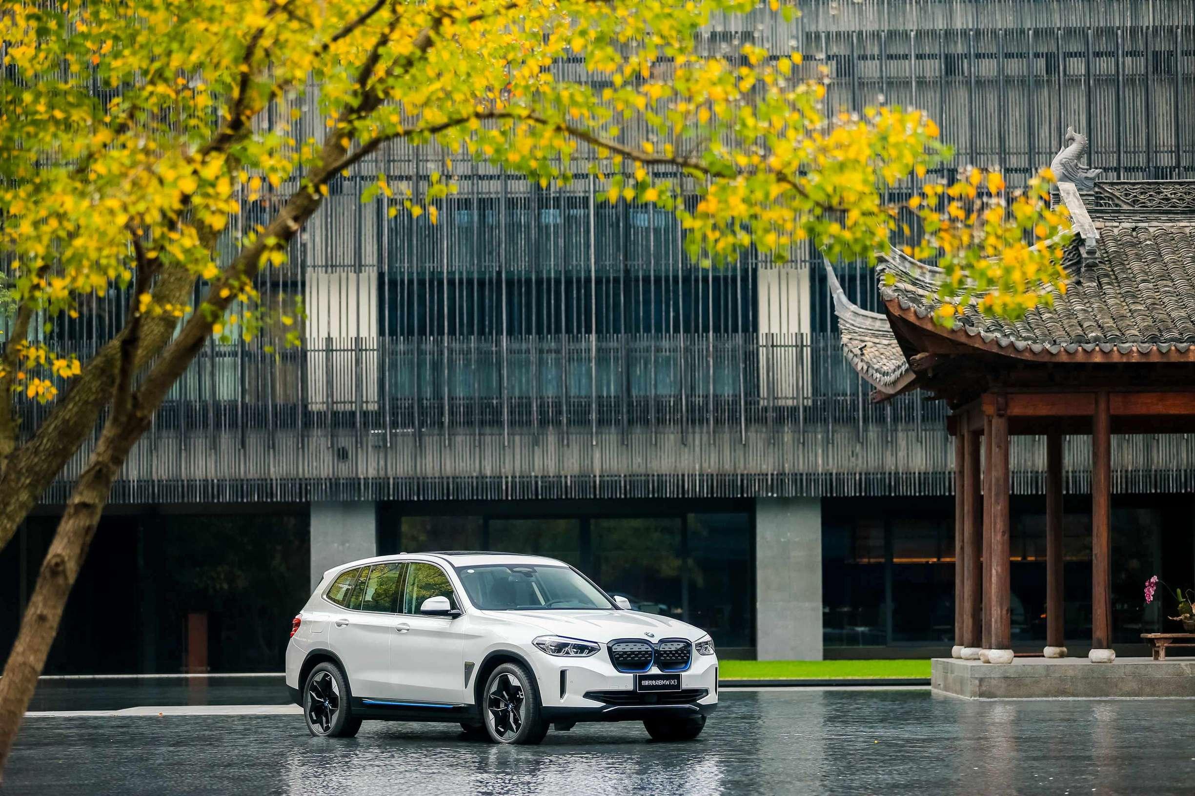 创新纯电动BMW iX3重装上阵,实施新定价