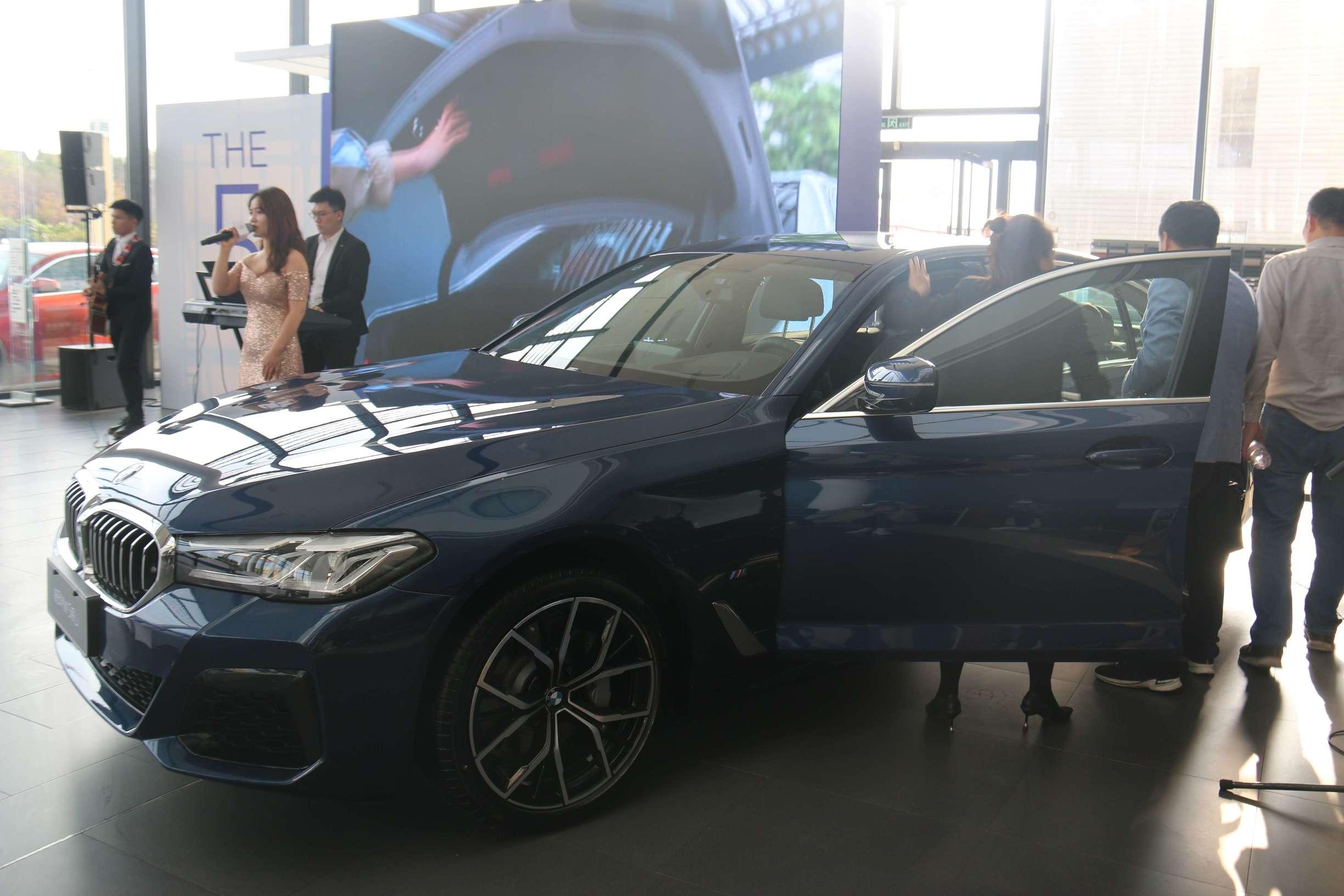 如皋聚宝行新BMW5系上市发布会圆满落幕