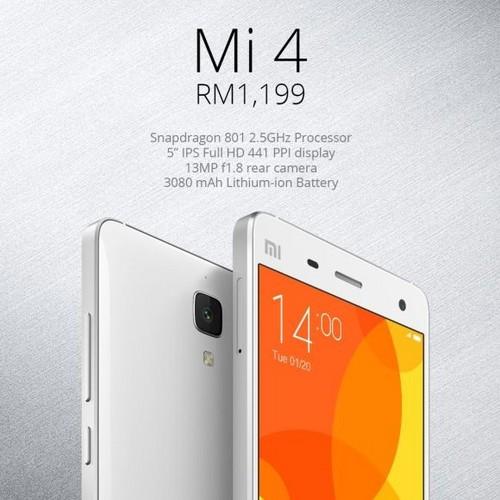 2090元/不兼容4g 小米4在新加坡发售