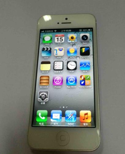 400元买iPhone5,感受流畅度都很好!有一点很遗憾!