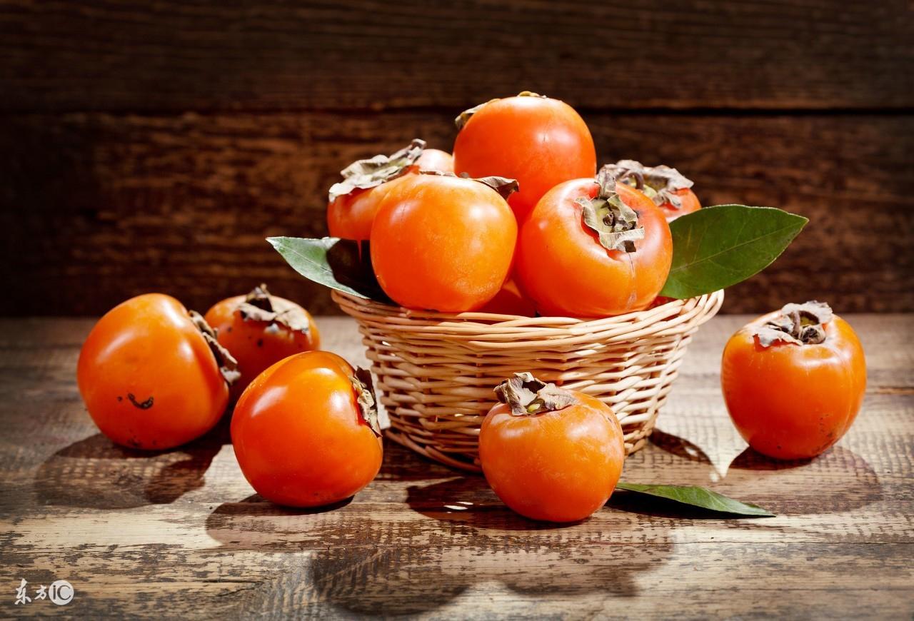 秋季柿子正当时,进食柿子注意5大禁忌