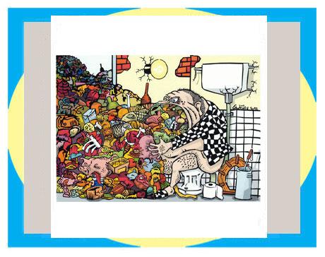 天天漫画网:《看环保漫画随想》