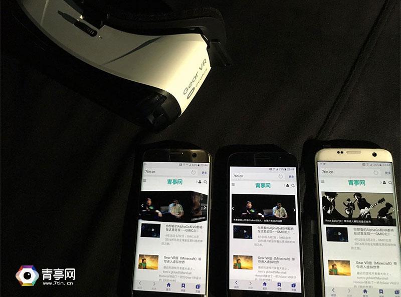 青亭测评:三星GalaxyS7带您进到真实的VR全球
