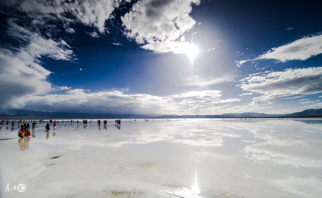上帝的一颗泪,遗落在青藏高原映照昆仑千年日月