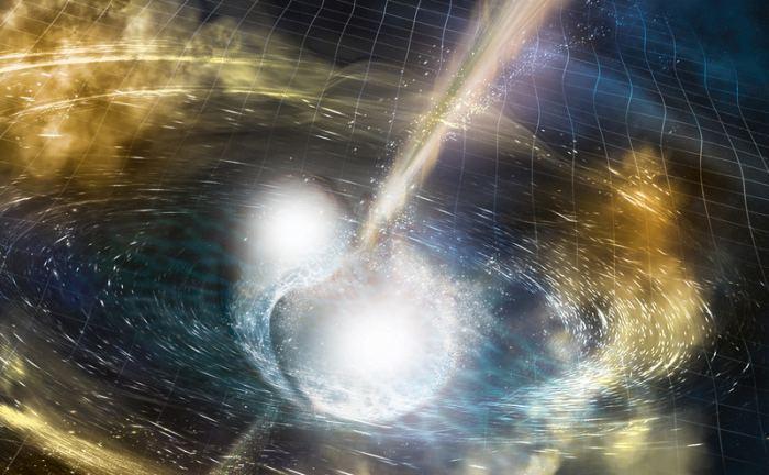 在引力波和光中观测到的第一个宇宙事件