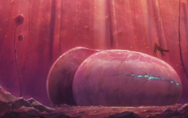 磷叶本非池中物,一遇蜗牛变化壳——评《宝石之国》第三集