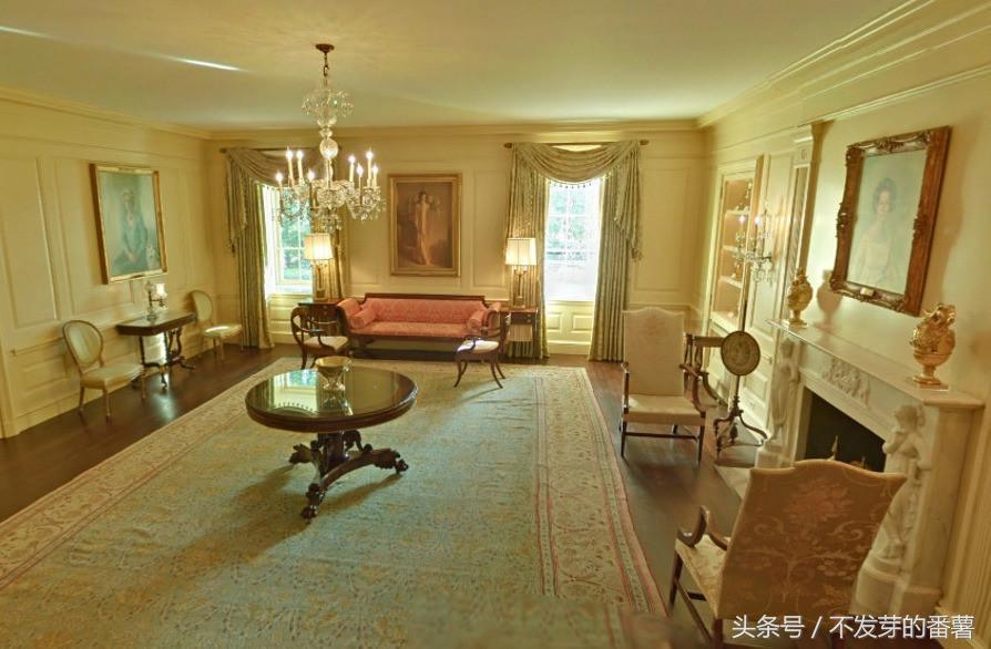揭秘美国白宫内景,看看影响世界的房子长什么样