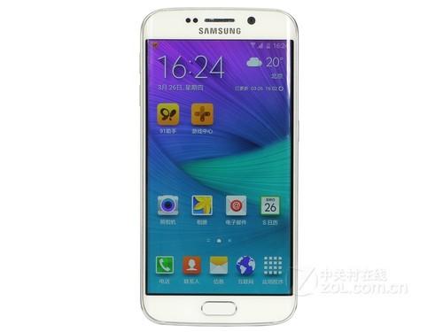 三星 Galaxy S6 edge32G版 金黄 单叶双曲面运作顺畅 苏宁2698元火爆市场销售中